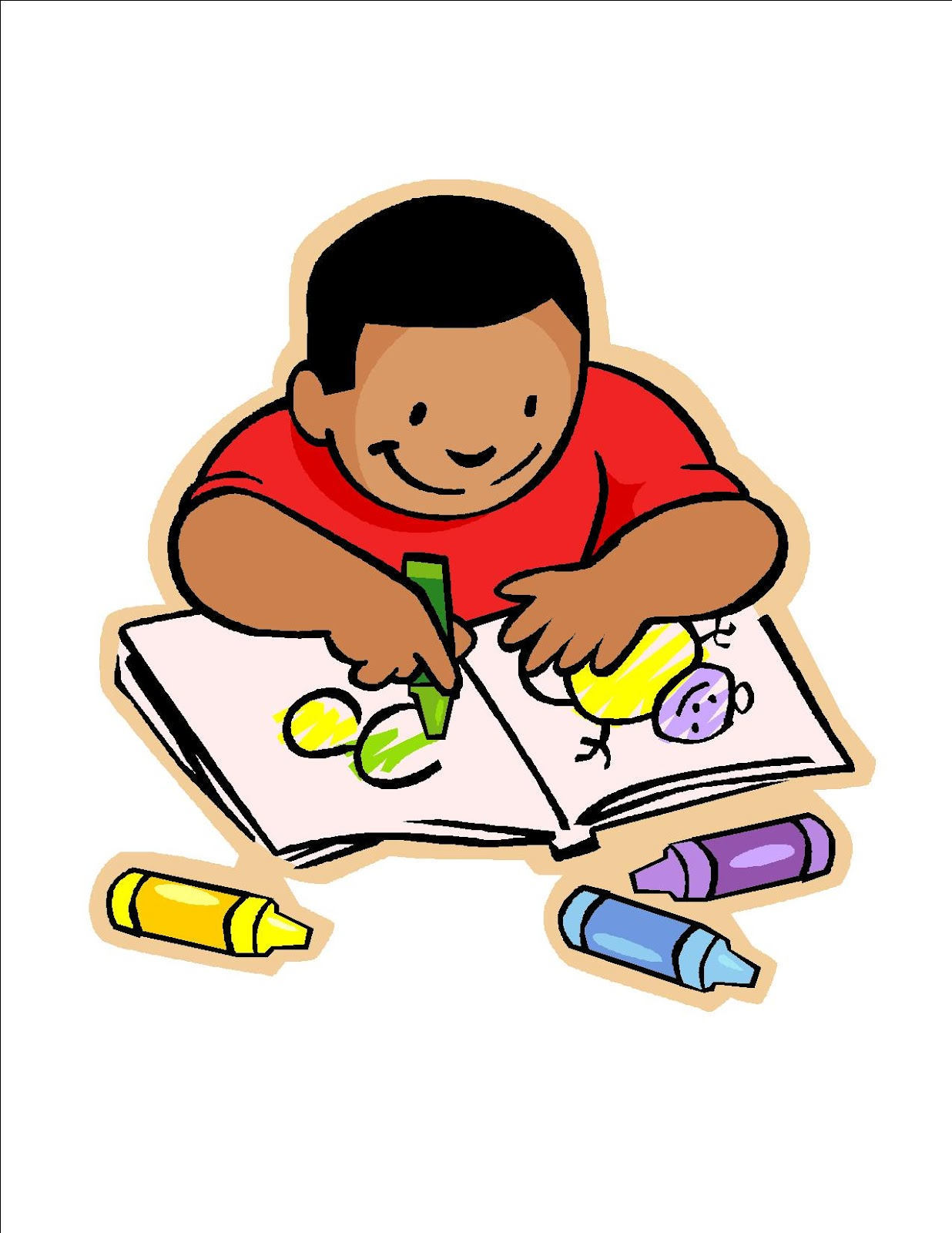 School Children Writing Clipart | Clipart Panda - Free ...