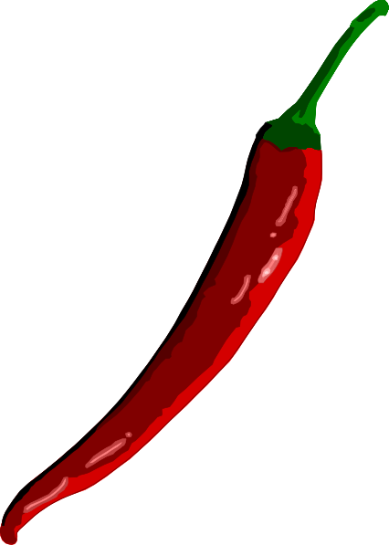 Chili clip art Free Vector /