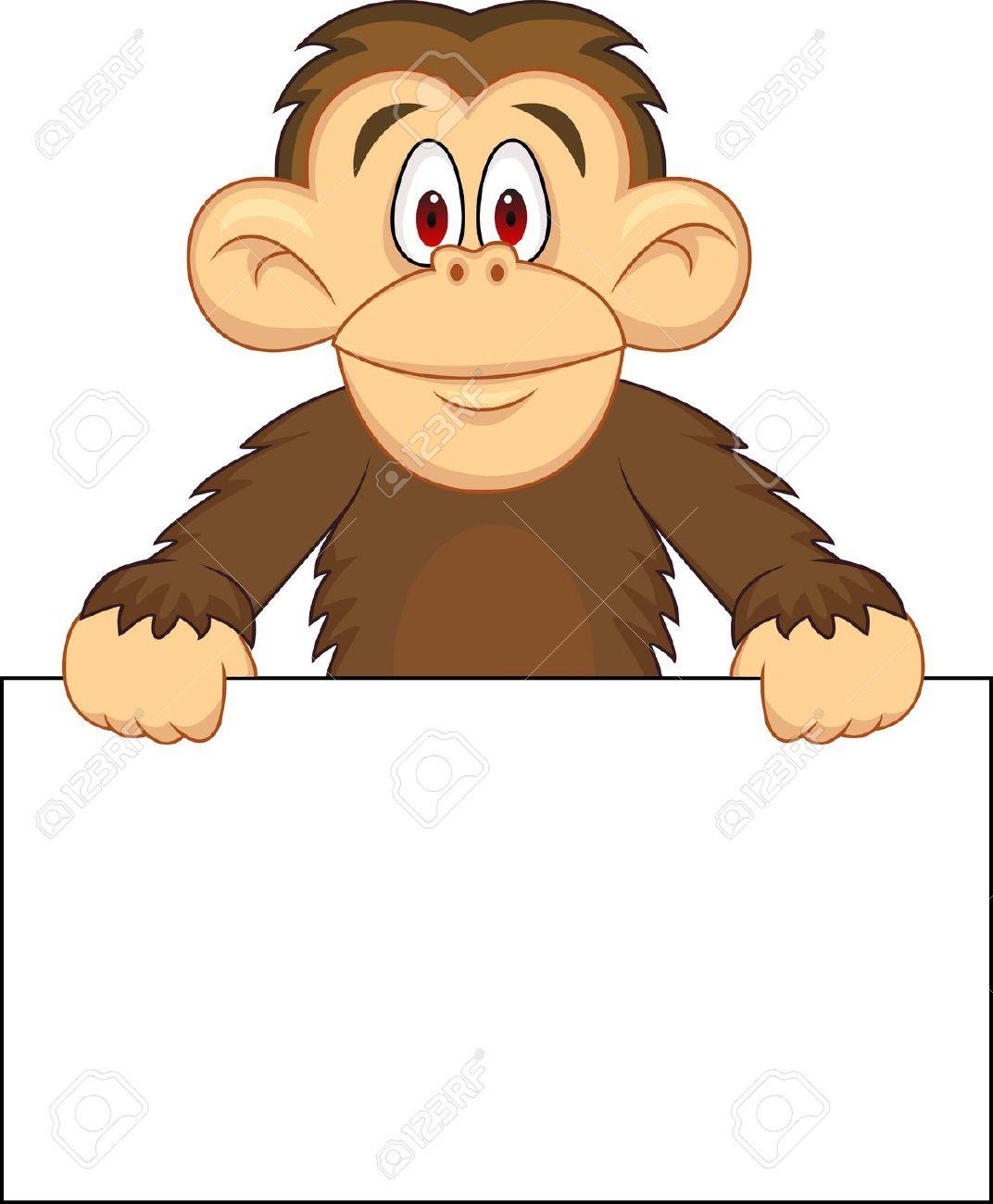 chimpanzee clipart clipart panda free clipart images chimpanzee clip art free Chimpanzee Clip Art Black and White