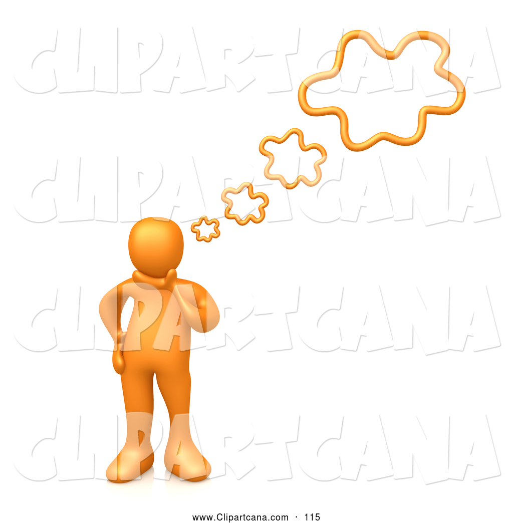 person thinking clipart | clipart panda - free clipart images