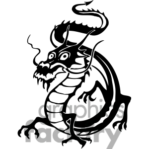 Dragon Clipart Black And White | Clipart Panda - Free Clipart Images