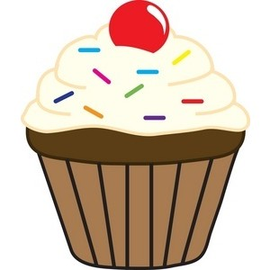 CUPCAKE CLIPART For Childrens