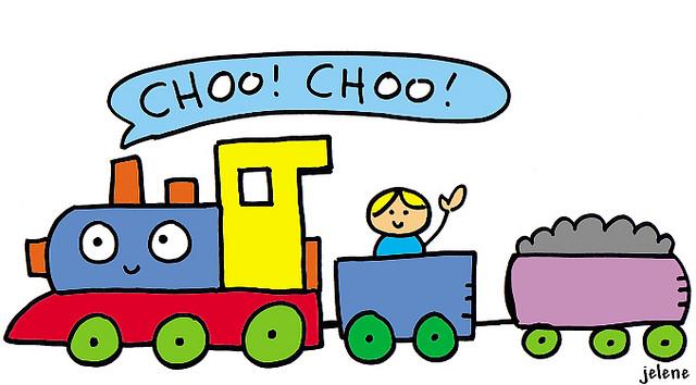 Words... chubby choo choo train