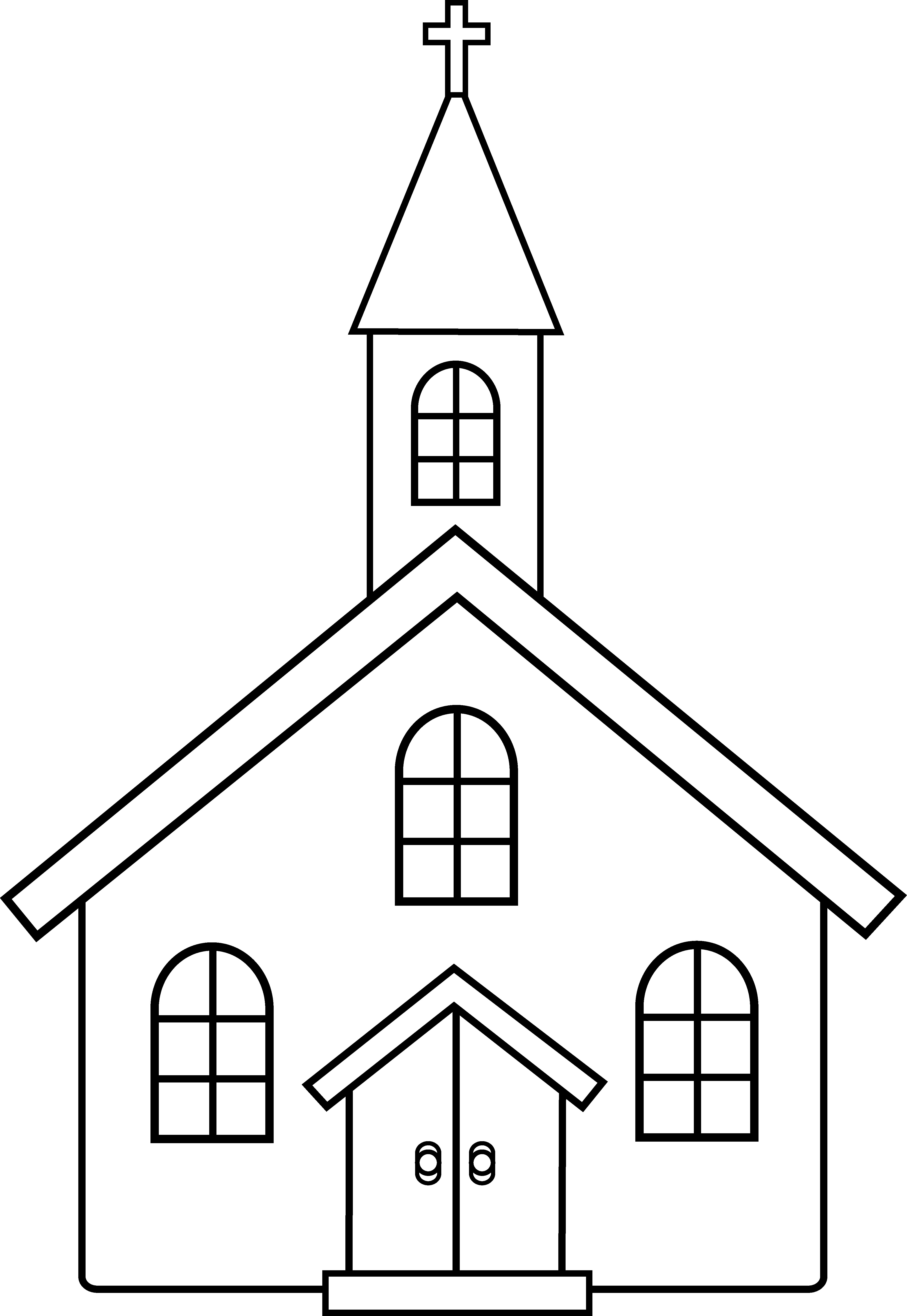 christian clipart free black and white - photo #8