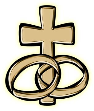 Christian Wedding Symbols Clip Art