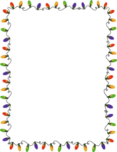 Christmas Lights Clipart Border | Clipart Panda - Free Clipart Images