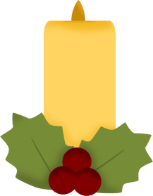 Christmas Candle Clipart | Clipart Panda - Free Clipart Images