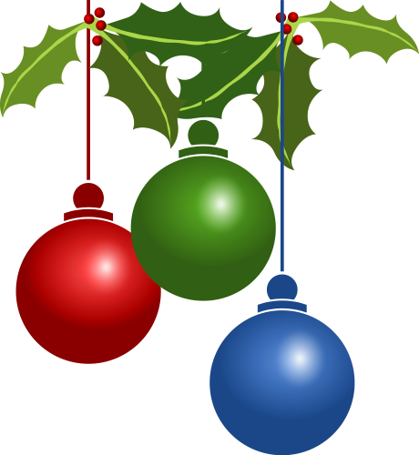 clipart christmas decorations - photo #22