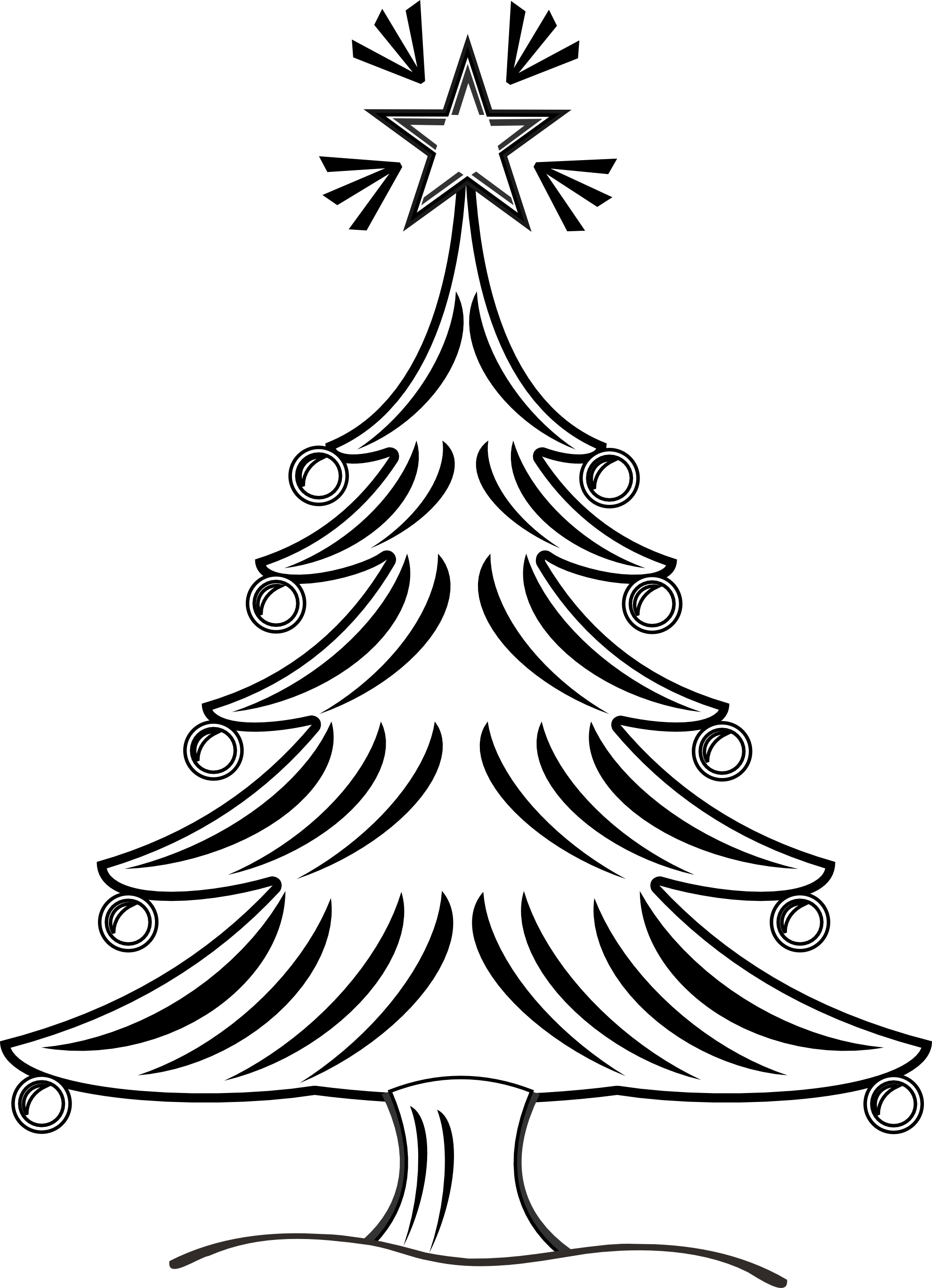 Christmas Clipart Black And White Border | Clipart Panda ...