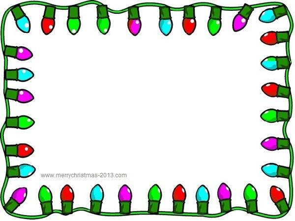 christmas clipart borders - Christmas Borders Free
