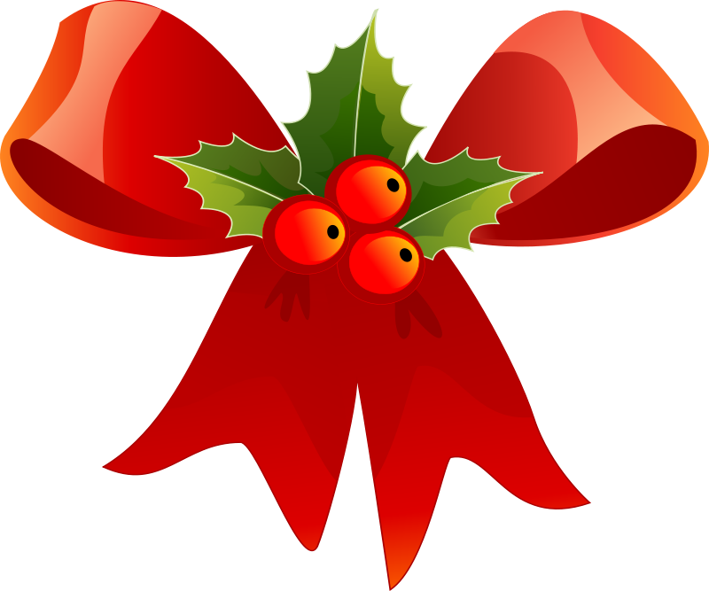 Free clipart christmas headers