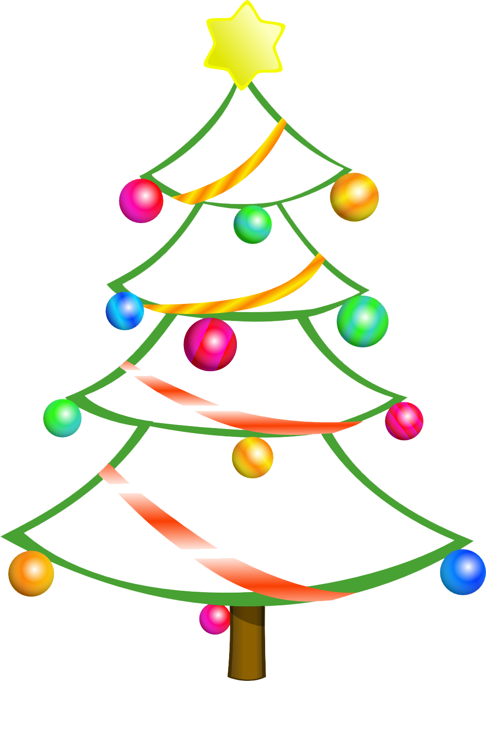christmas tree clip art is clipart panda free clipart images
