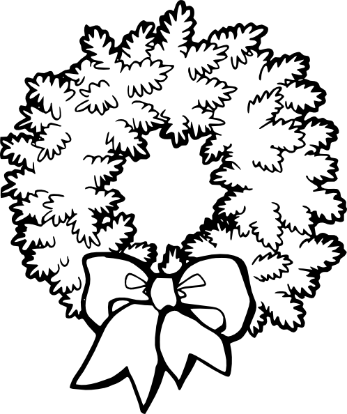 Christmas Border Clipart Black And White | Clipart Panda ...