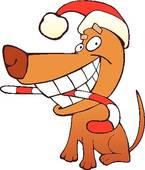 Christmas Dog Bone Clip Art | Clipart Panda - Free Clipart ...