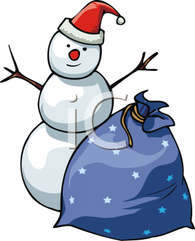 Christmas Gift Bag Clipart Sack Of Presents