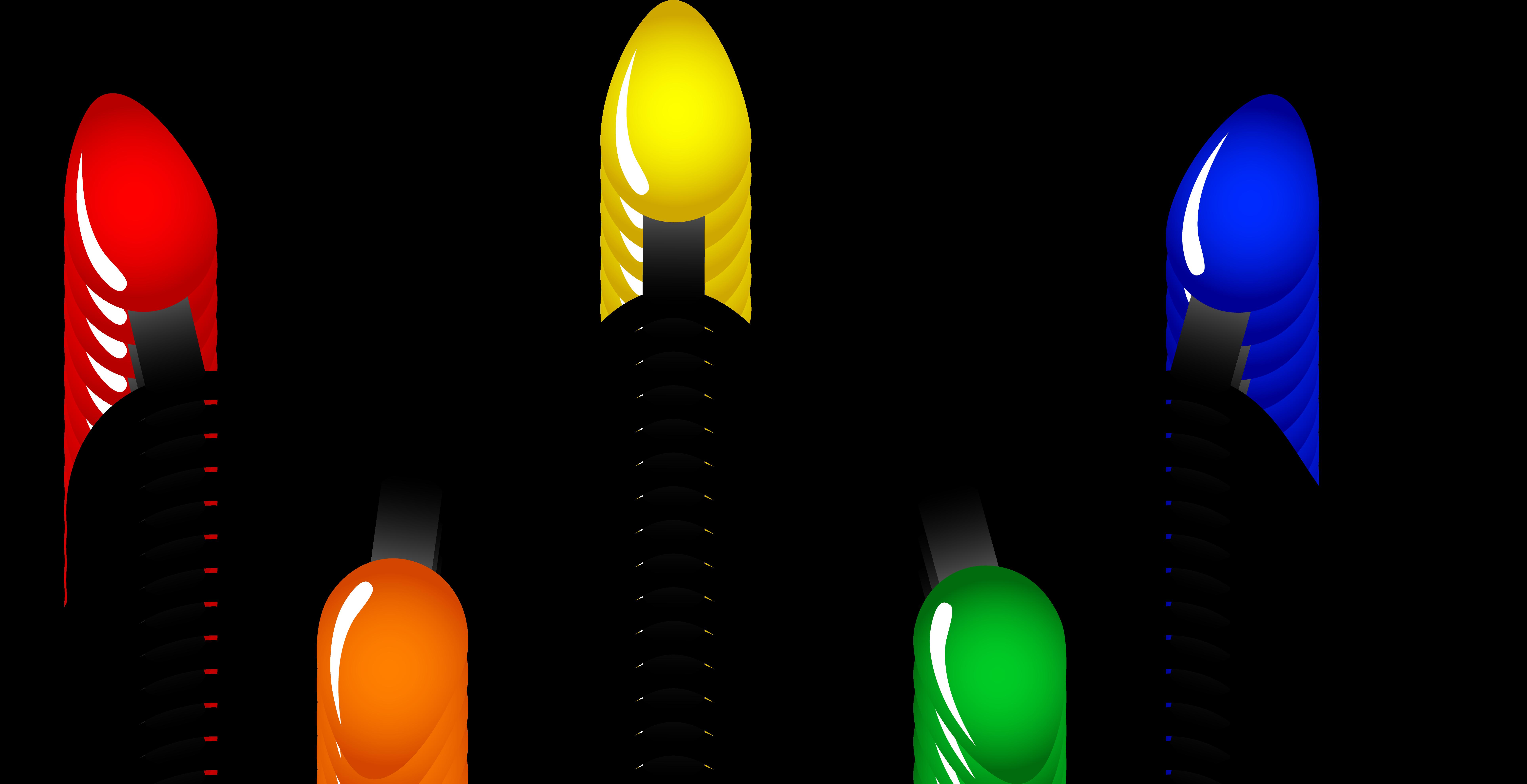 Christmas Light Bulb Clip Art | Clipart Panda - Free Clipart Images