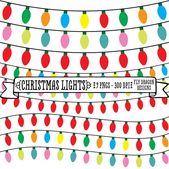 christmas20light20bulb20clip20art - Digital Christmas Lights
