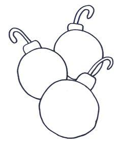 Christmas Light Bulb Coloring Page | Clipart Panda - Free ...