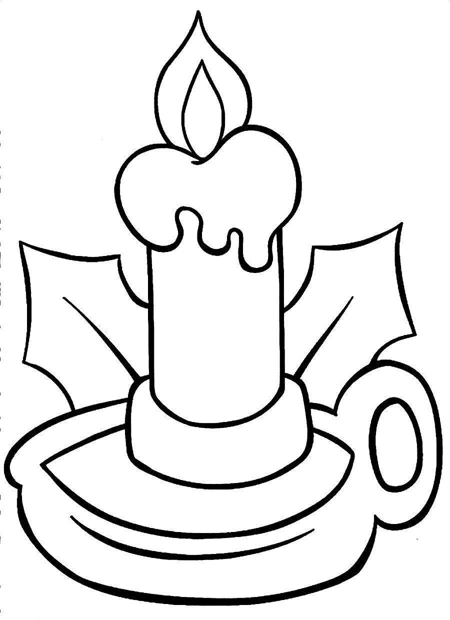Free Coloring Pages Of A Light Bulb Light Coloring Page