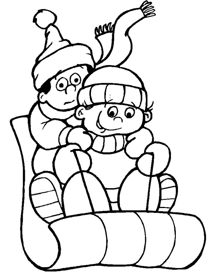 Christmas Light Bulb Coloring Page