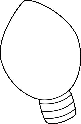 christmas-light-bulb-pattern-lamp-clipart-black-and-white-christmas ...