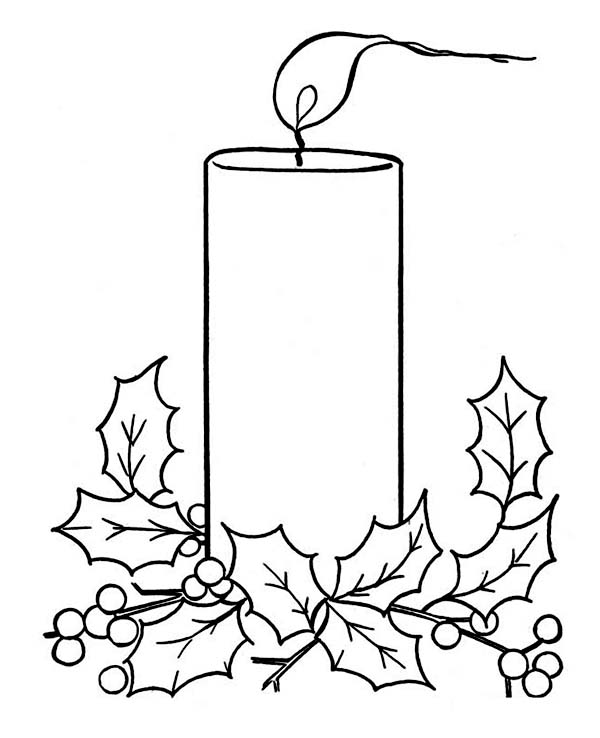 christmas lights coloring pages