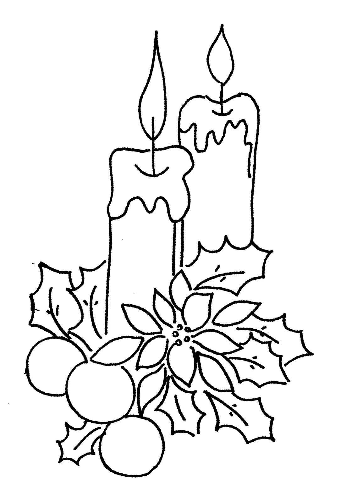 Christmas Light Coloring Page Auromas Com Bulb