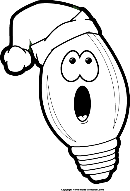 Christmas Lights House Clipart | Clipart Panda - Free Clipart Images