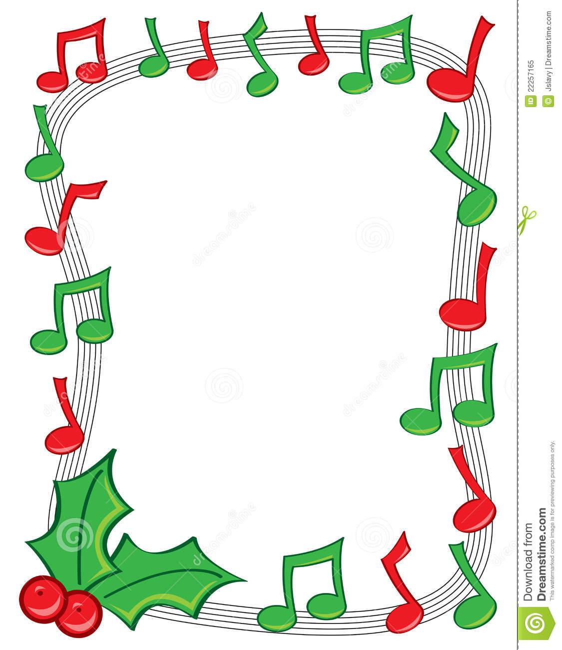 Christmas Note Borders