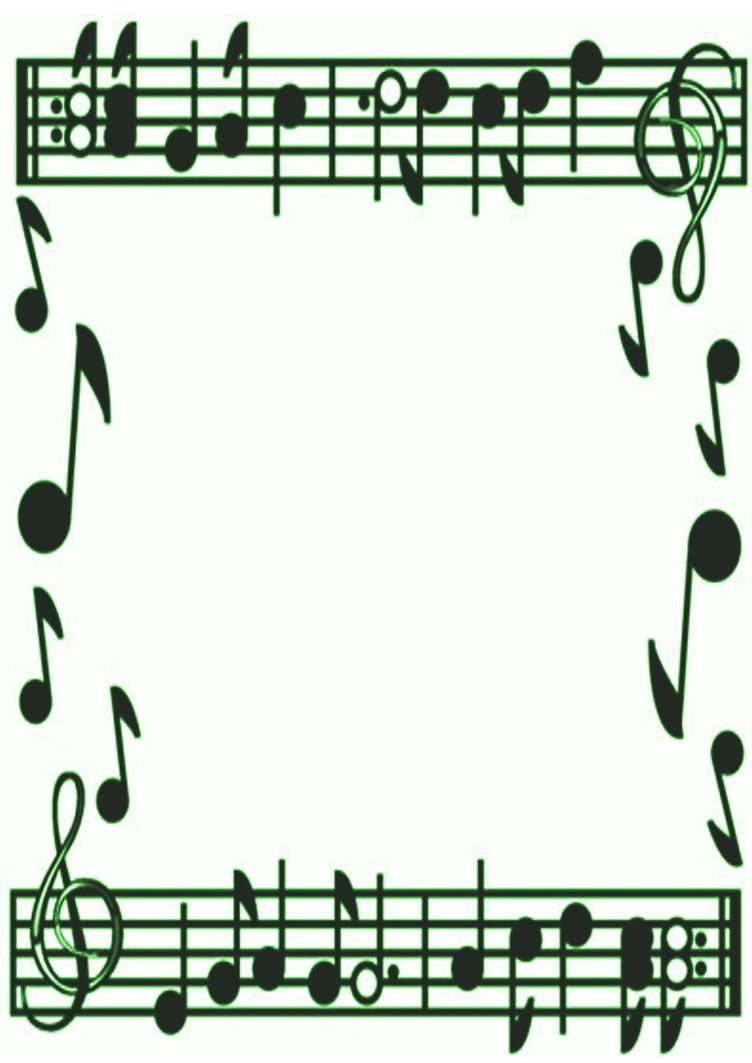 Religious Christmas Music Clipart.Christmas Music Notes Border Clip Art Clipart Panda Free