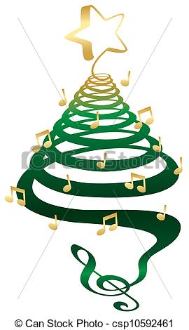 Christmas Music Notes Clip Art | Clipart Panda - Free Clipart Images