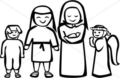 christmas%20nativity%20clipart%20black%20and%20white