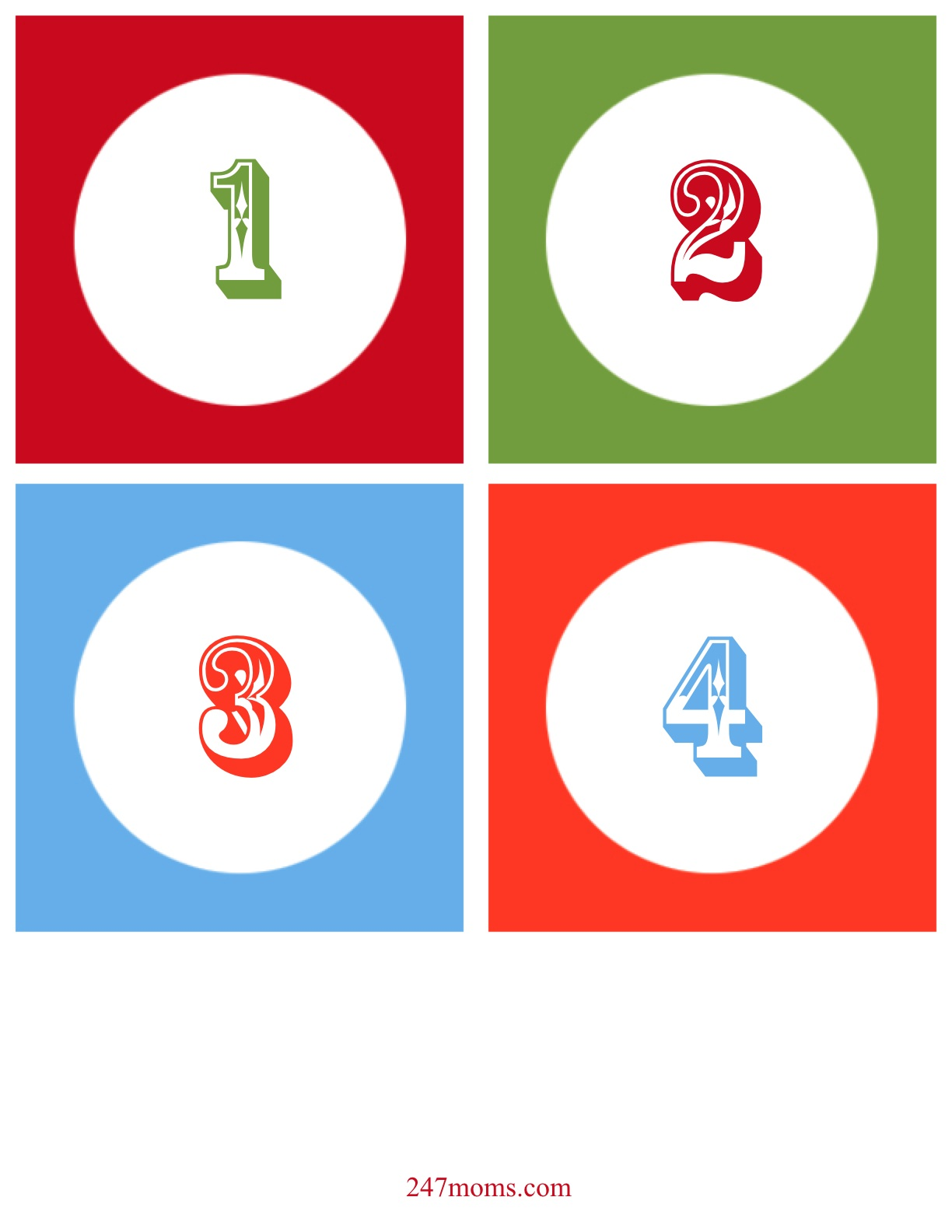 Number 25 pictures printable number 25 - Christmas 20numbers 20printable