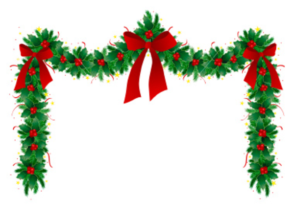 Christmas ornament border clipart panda free