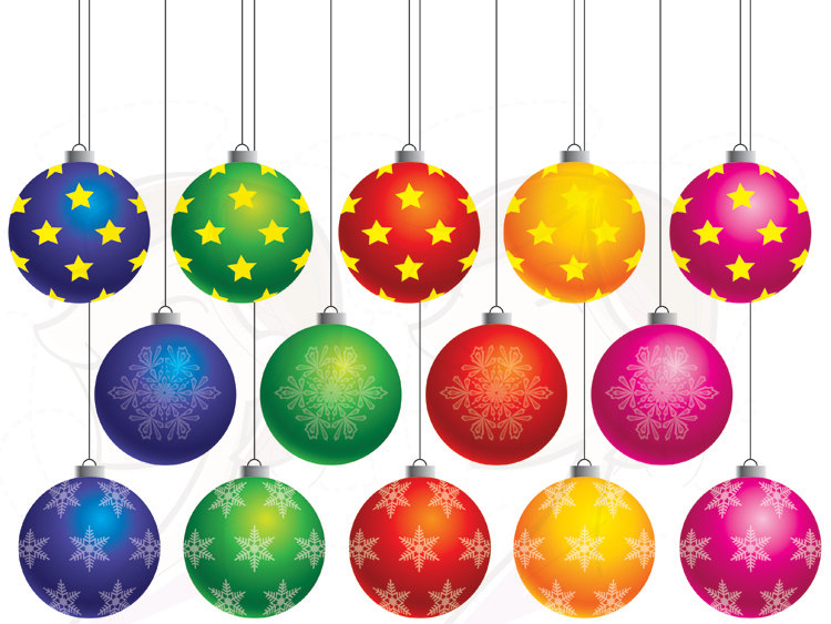 christmas%20ornaments%20clipart - Christmas Ornaments Clipart Clipart Panda - Free Clipart Images