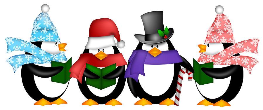 Christmas Penguin Clip Art | Clipart Panda - Free Clipart Images