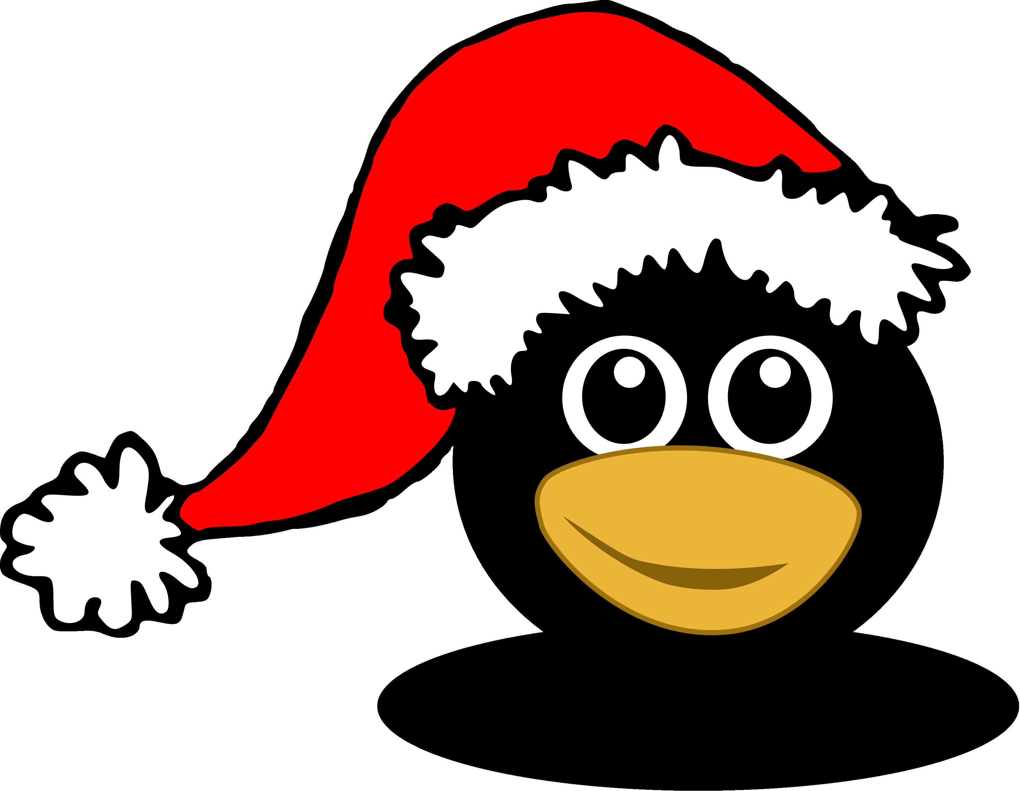 christmas%20penguin%20clipart%20black%20and%20white