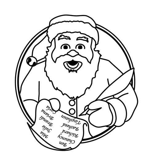 christmas20penguin20clipart20black20and20white - Free Christmas Clip Art Black And White