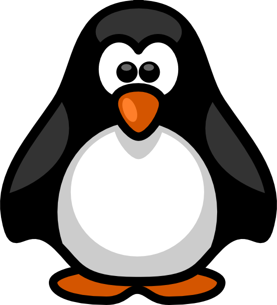 Little Penguin Coloring Book | Clipart Panda - Free Clipart Images