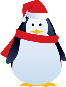 christmas penguin clip art clipart panda free clipart images rh clipartpanda com christmas penguin clipart free