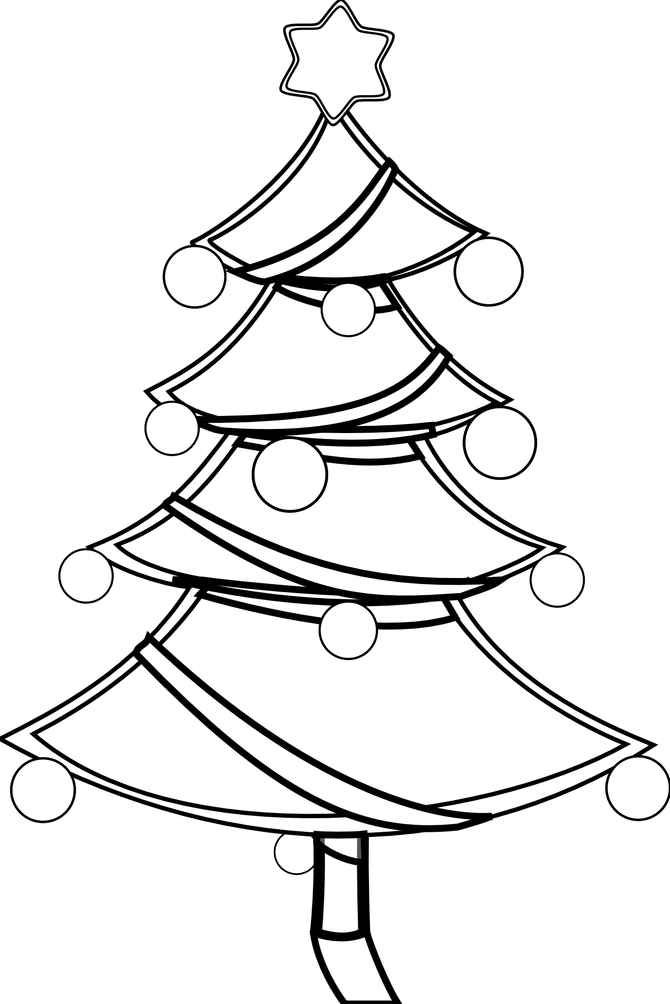 Christmas Present Clipart Black And White | Clipart Panda - Free ...