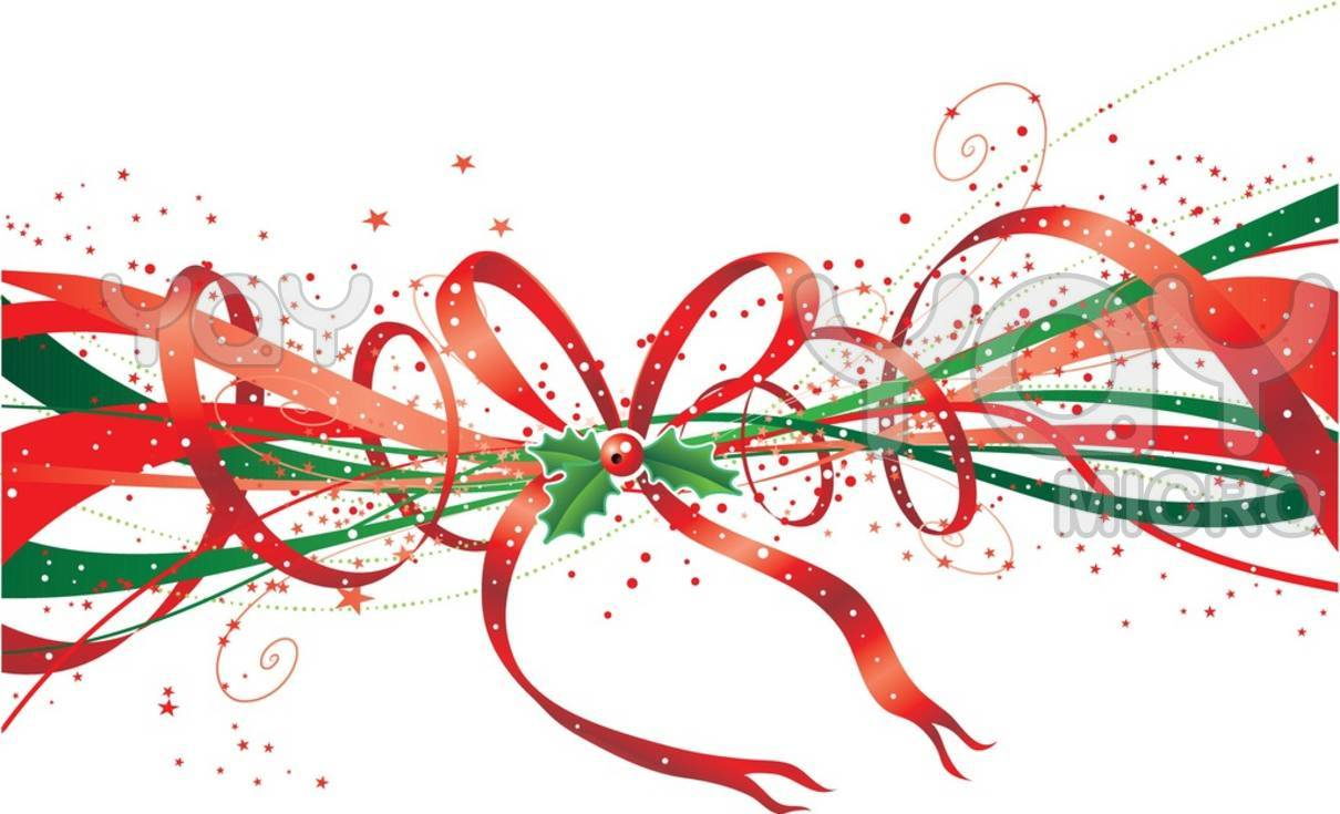 Christmas Bow Clip Art - Cliparts.co   Christmas Clipart Ribbons And Bows