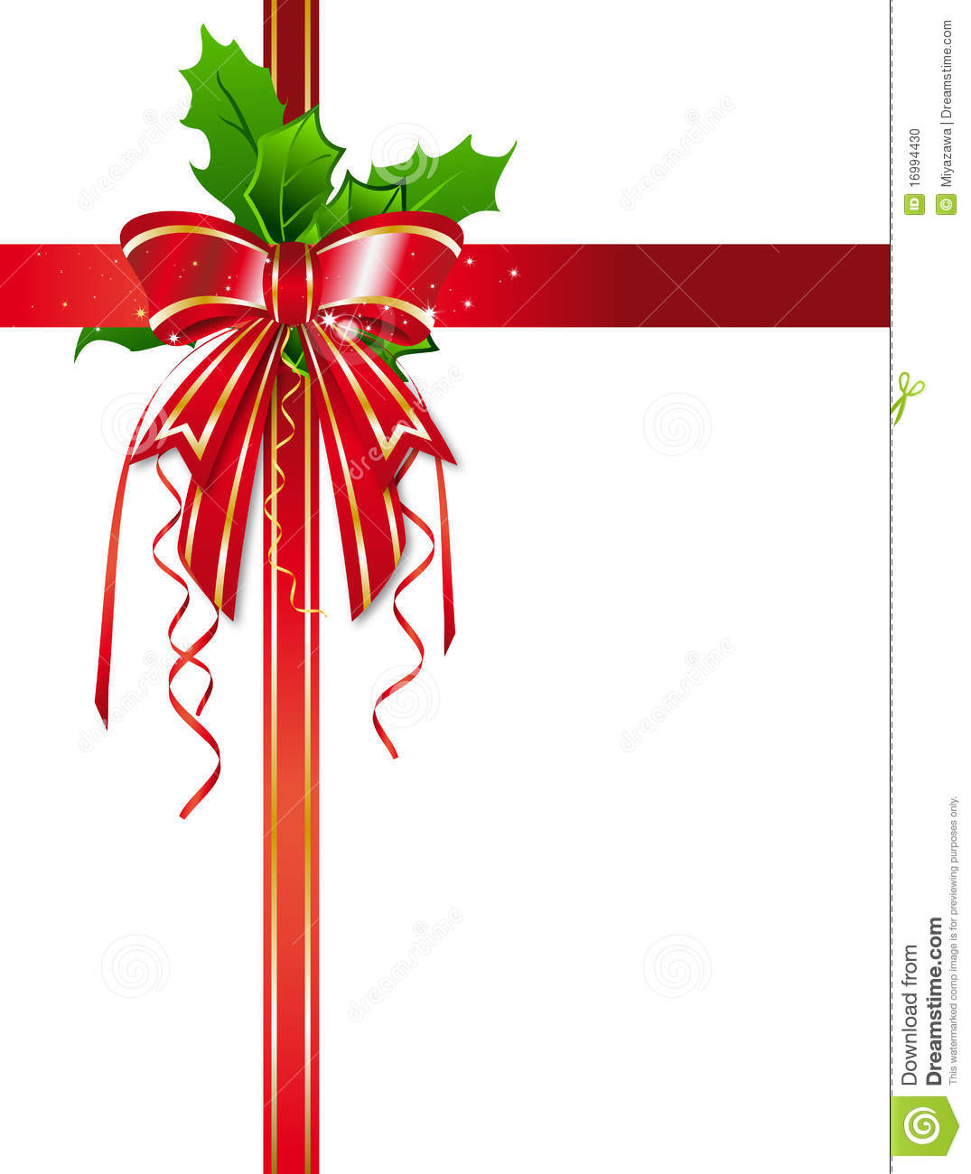 Christmas ribbon images clipart panda free clipart images