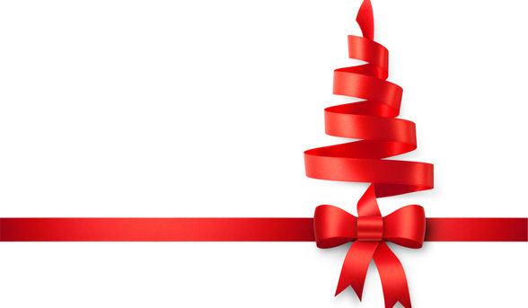 Special gifts quotes like success for Red ribbon around tree