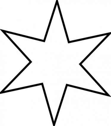 Christmas Star Clip Art Outline | Clipart Panda - Free ...