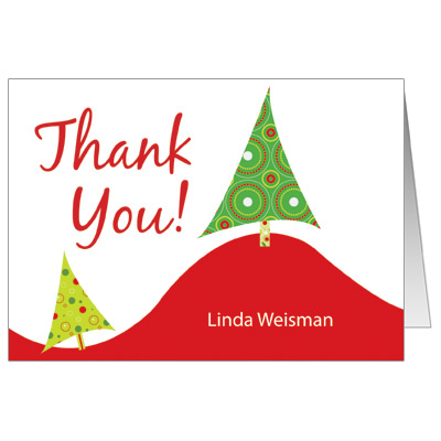 Holiday Thank You Cards | Clipart Panda - Free Clipart Images