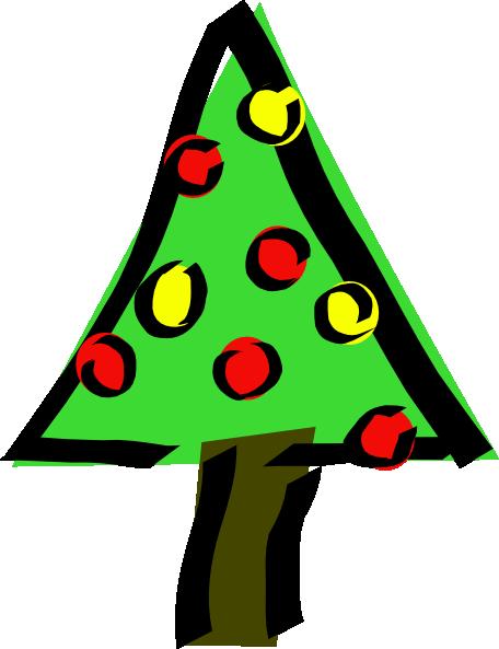 foto de Free Christmas Tree Clip Art Borders Clipart Panda