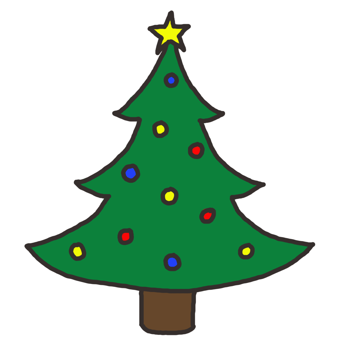 Christmas Tree Clip Art Christmas