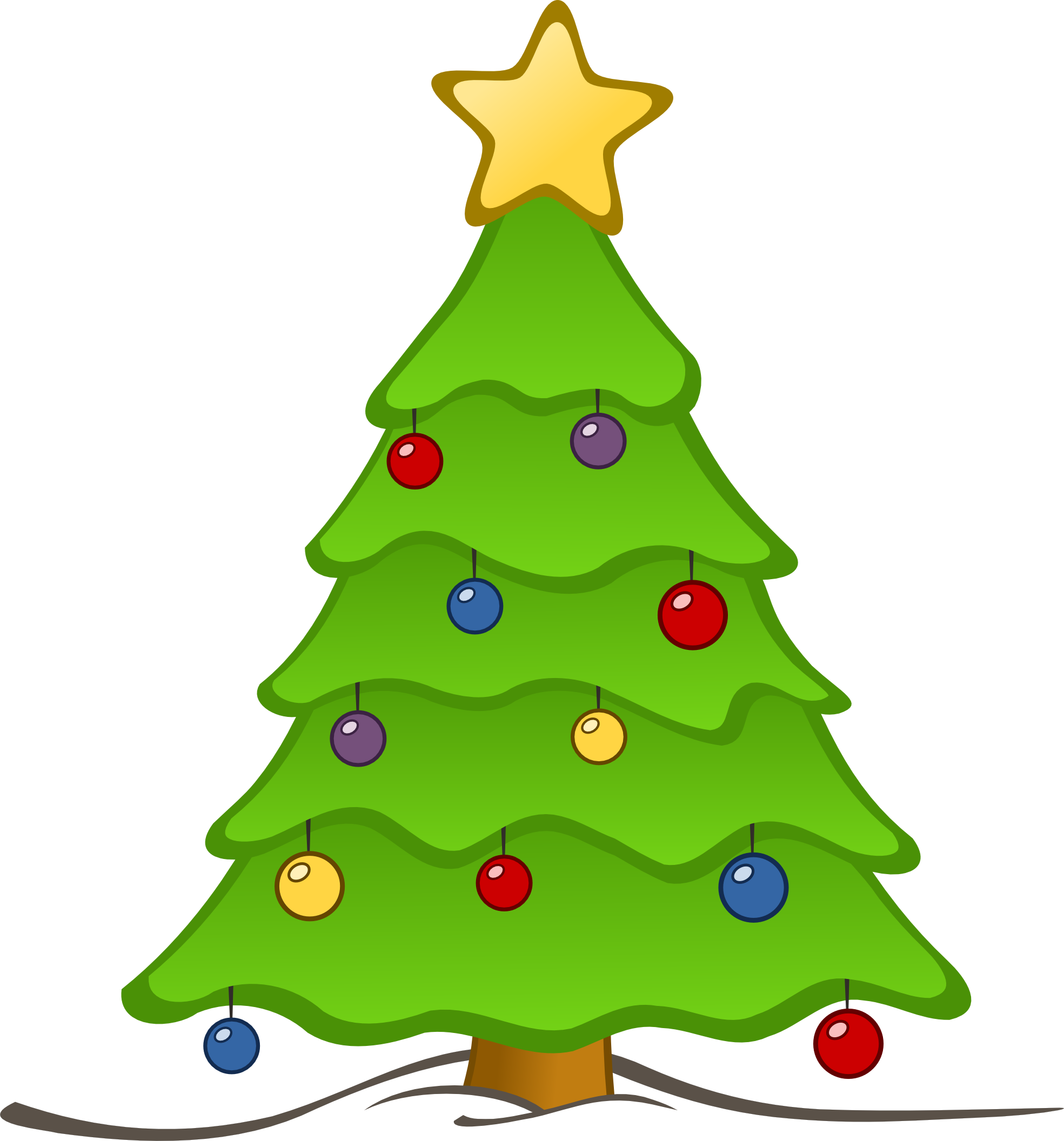 christmas tree with presents clipart clipart panda free clipart rh clipartpanda com clipart of christmas presents clipart of christmas ornaments