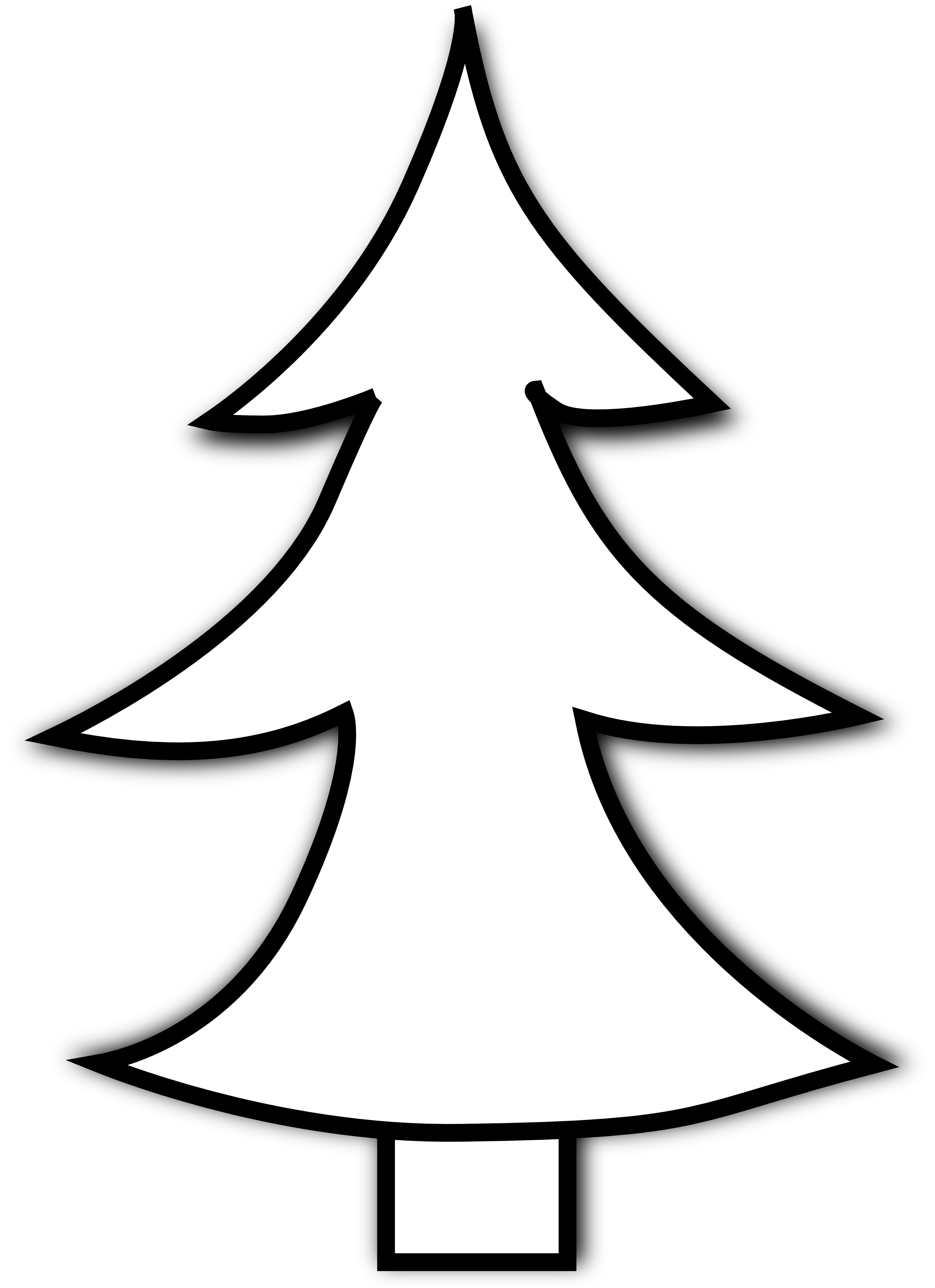 christmas tree clipart black and white clipart panda free rh clipartpanda com christmas tree clipart black and white xmas tree clipart black and white